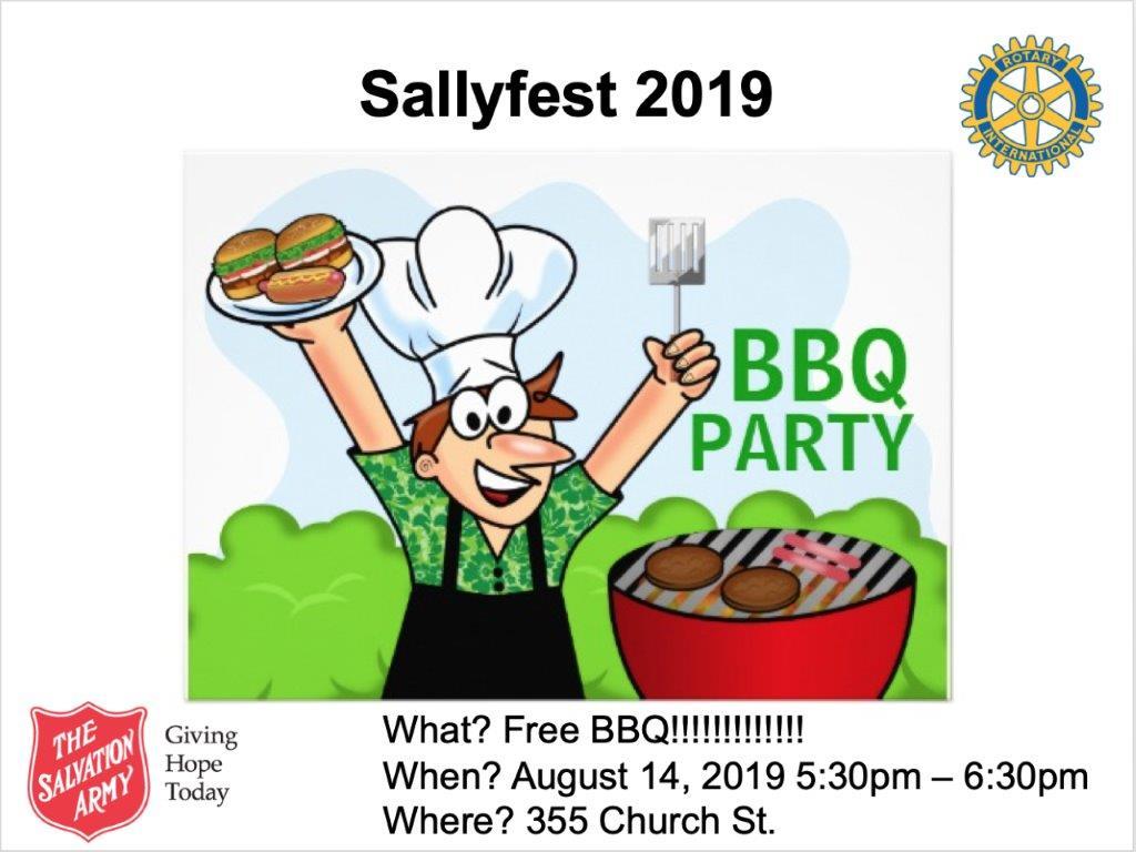 Salvation Army Windsor's SallyFest 2019